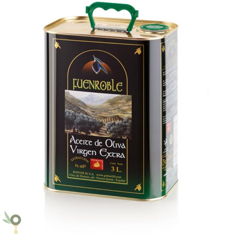fuenroble 3 liter glasflasche extra virgin olive oil evoo. Black Bedroom Furniture Sets. Home Design Ideas