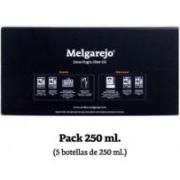 Packung von 5 Glasflaschen Melgarejo Selection 250 ml.
